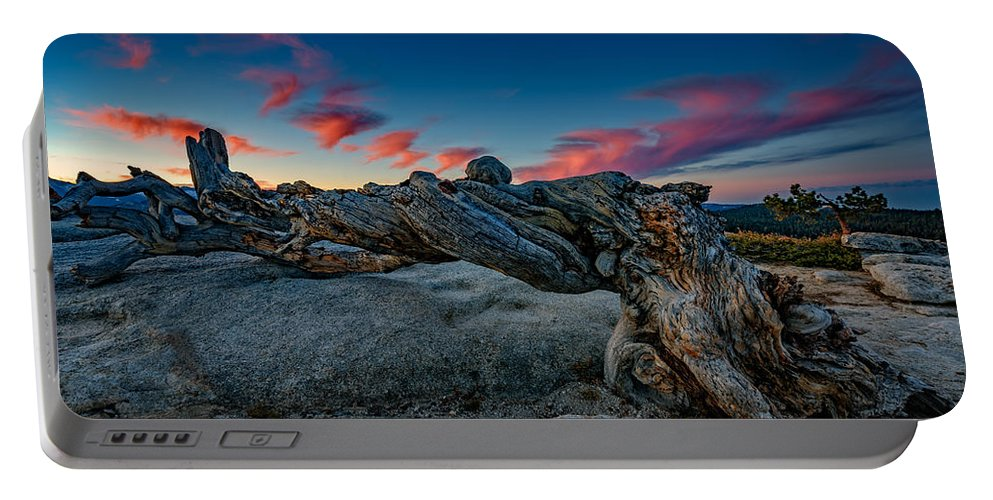 Jeffrey Pine Portable Battery Charger featuring the photograph Sunrise On The Jeffrey Pine by Rick Berk