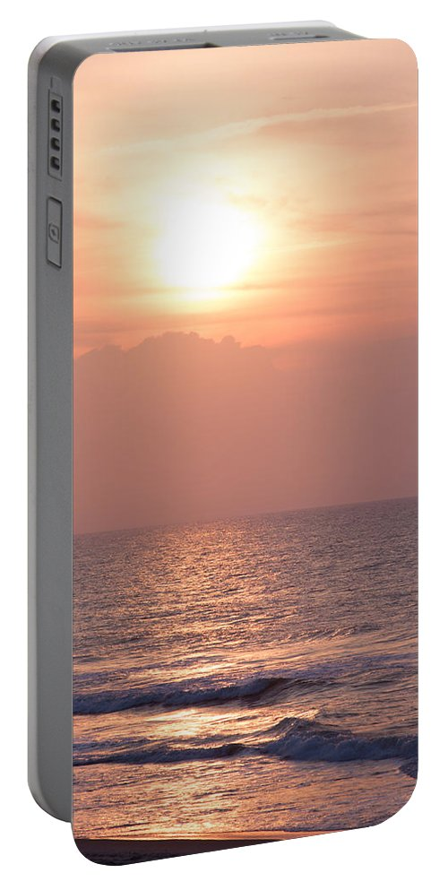 Beach Portable Battery Charger featuring the photograph Sunrise Over The Atlantic by Andrei Shliakhau
