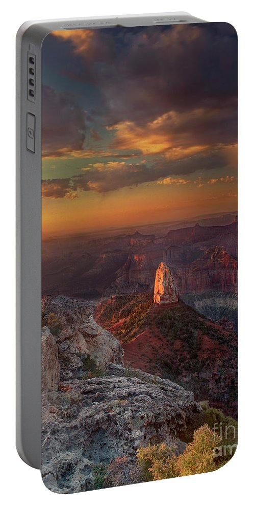 North America Landscape Portable Battery Charger featuring the photograph Sunrise Point Imperial North Rim Grand Canyon National Park Arizona by Dave Welling