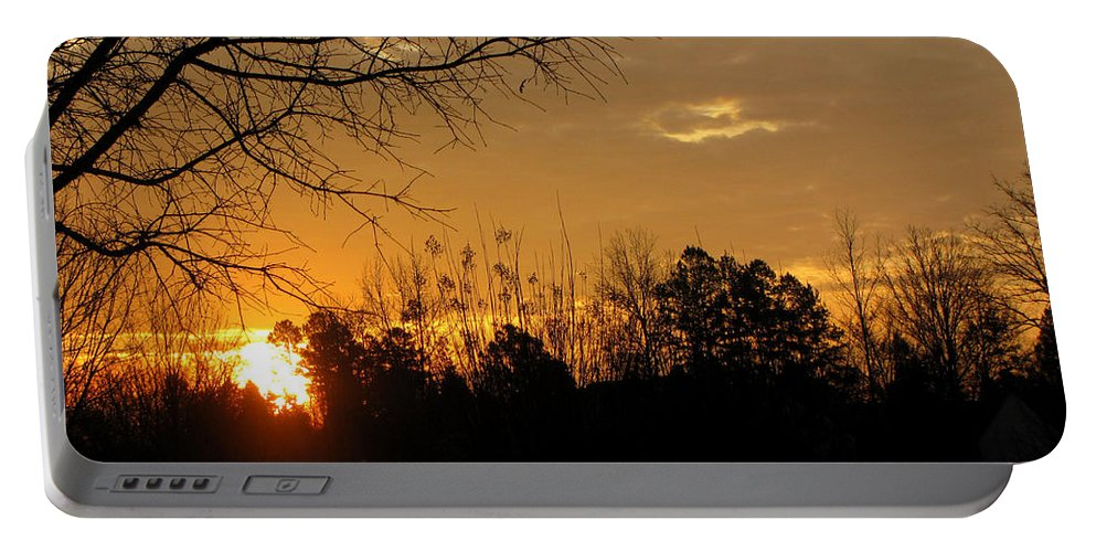 Sunrise Portable Battery Charger featuring the photograph Sunrise Sunset by Sarah Houser