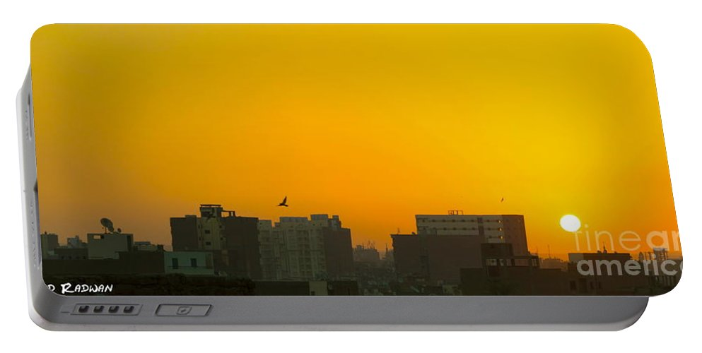Sunset Portable Battery Charger featuring the photograph Sunset by Ahmed Radwan
