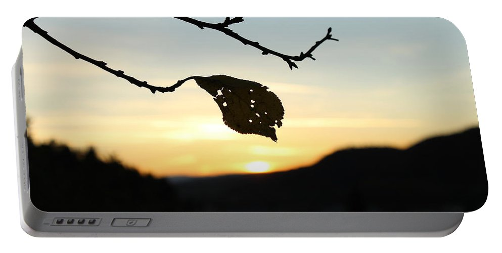 Sunset Portable Battery Charger featuring the photograph Sunset by Alena Madosova