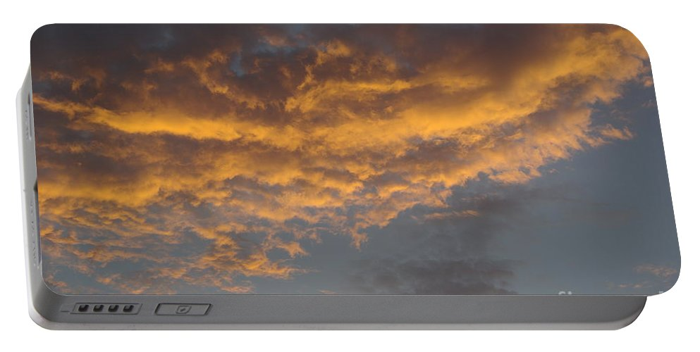 Clouds Portable Battery Charger featuring the photograph Sunset Clouds by Jim And Emily Bush