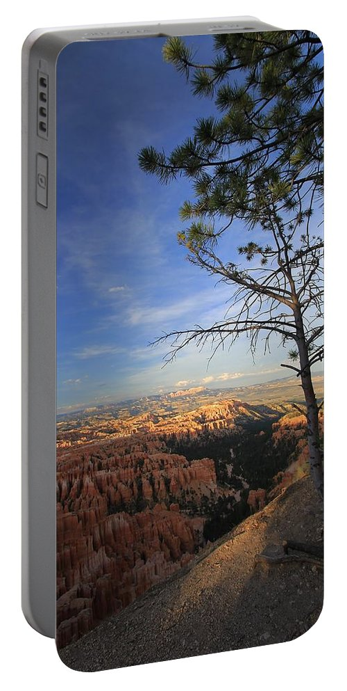 Bryce Canyon Portable Battery Charger featuring the photograph Sunset Colours Bryce Canyon 3 by Mo Barton