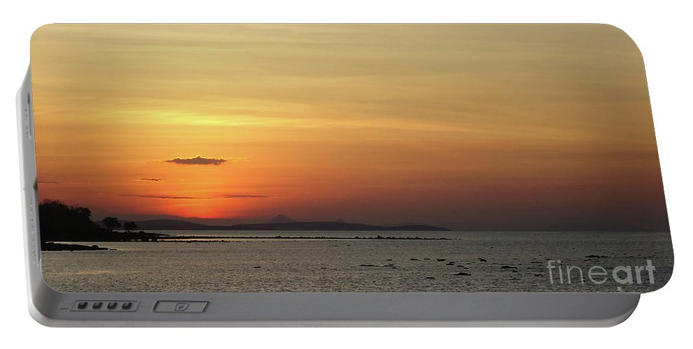 Sunset Portable Battery Charger featuring the photograph Sunset by Dee Art