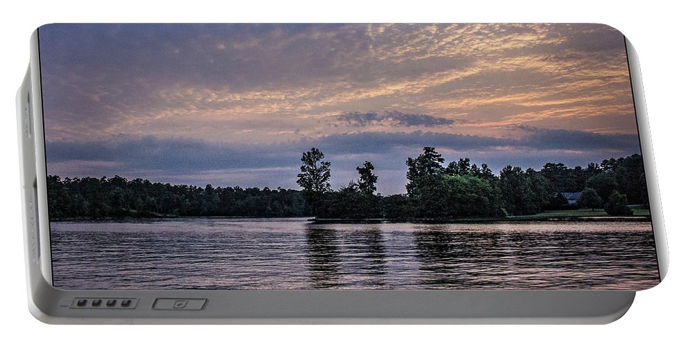 Landscape Portable Battery Charger featuring the photograph Sunset Reflections by Thomas Fields