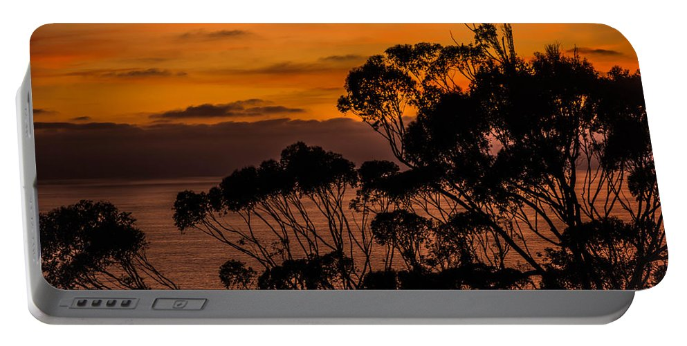 Sunset Portable Battery Charger featuring the photograph Sunset /torrey Pines Image 2 by Bruce Pritchett