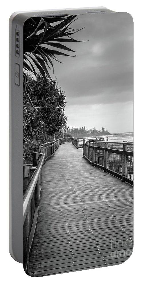 Australia Portable Battery Charger featuring the photograph Sunshine Coast Boardwalk by Jukka Heinovirta