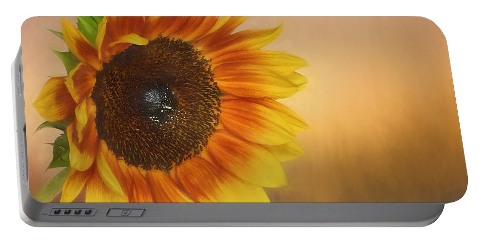 Bloom Portable Battery Charger featuring the photograph Sunshine by David and Carol Kelly