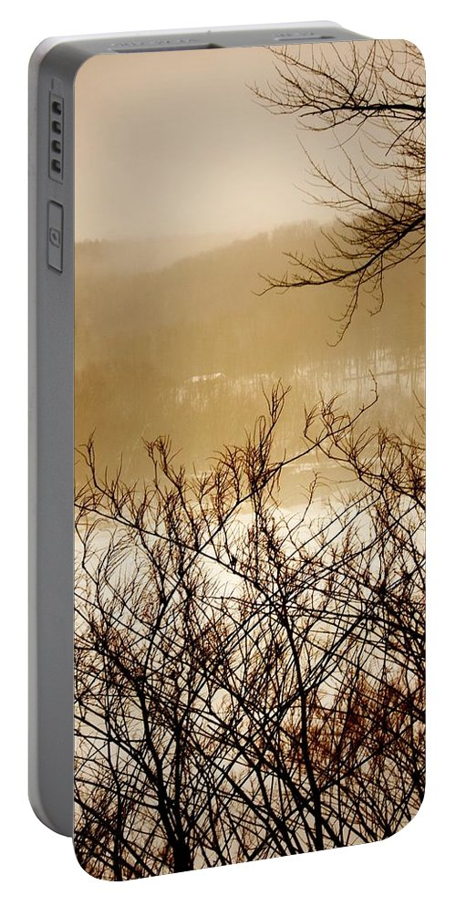 Falls Pennsylvania Portable Battery Charger featuring the photograph Susquehanna Vibes... by Arthur Miller
