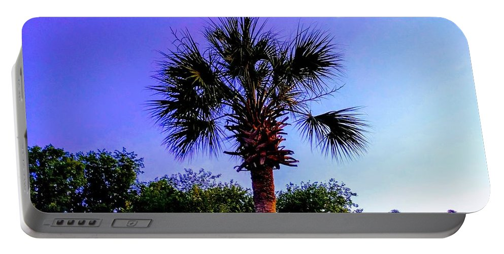Palm Portable Battery Charger featuring the photograph Sweet Dreams Carolinas by Sherry Kuhlkin