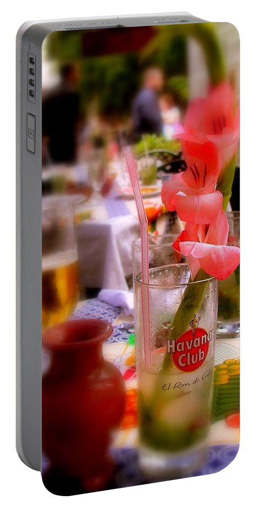 Cuba Portable Battery Charger featuring the photograph Sweet Havana by Karen Wiles