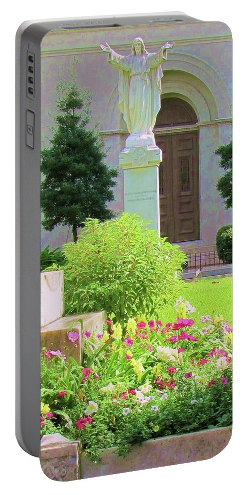 Jesus Portable Battery Charger featuring the photograph Sweet Jesus by Michelle Powell