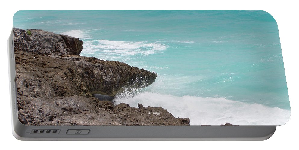 Water Portable Battery Charger featuring the photograph Sweet Saltyness by Amanda Barcon