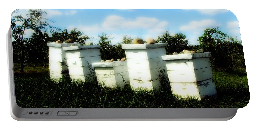 Honey Portable Battery Charger featuring the photograph Sweetened Nature by September Stone