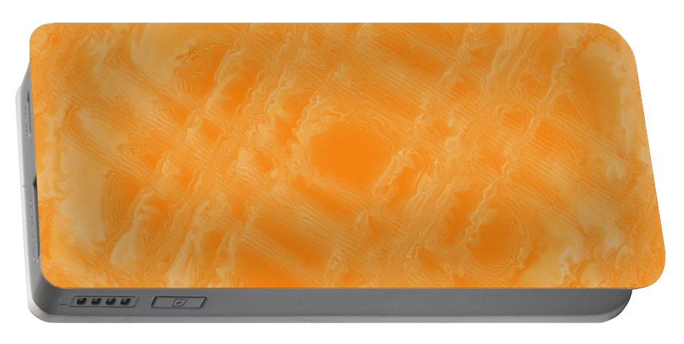 Digital Art Portable Battery Charger featuring the digital art Sweetly Industrious by Pharris Art