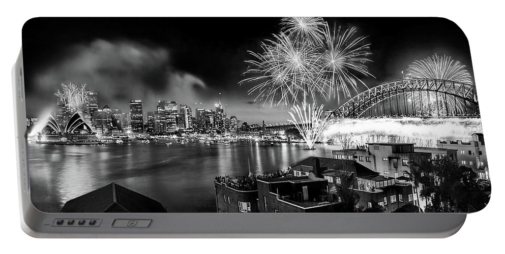 Sydney Australia Portable Battery Charger featuring the photograph Sydney Spectacular by Az Jackson