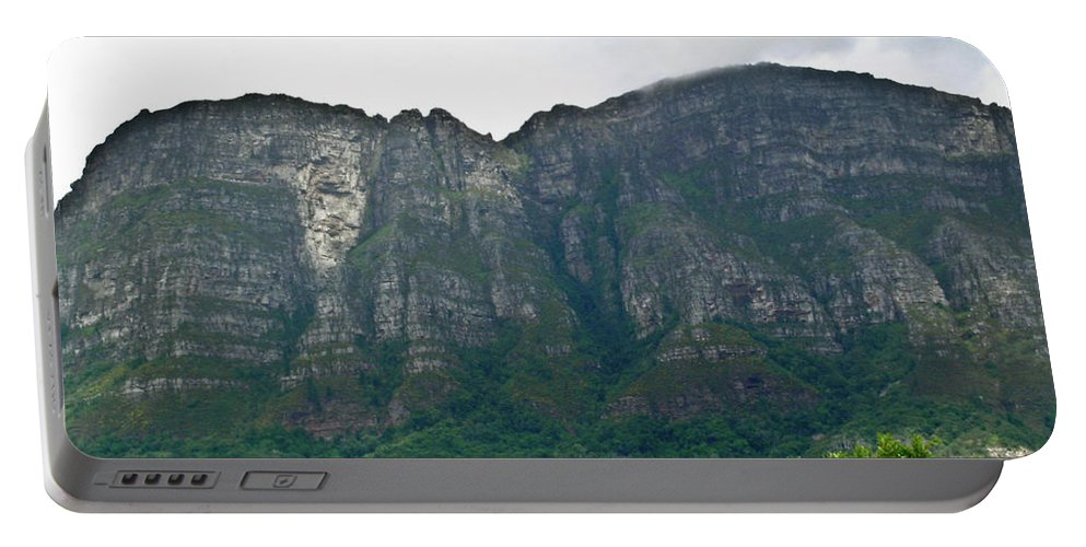 Table Portable Battery Charger featuring the photograph Table Mountain South Africa by Douglas Barnett