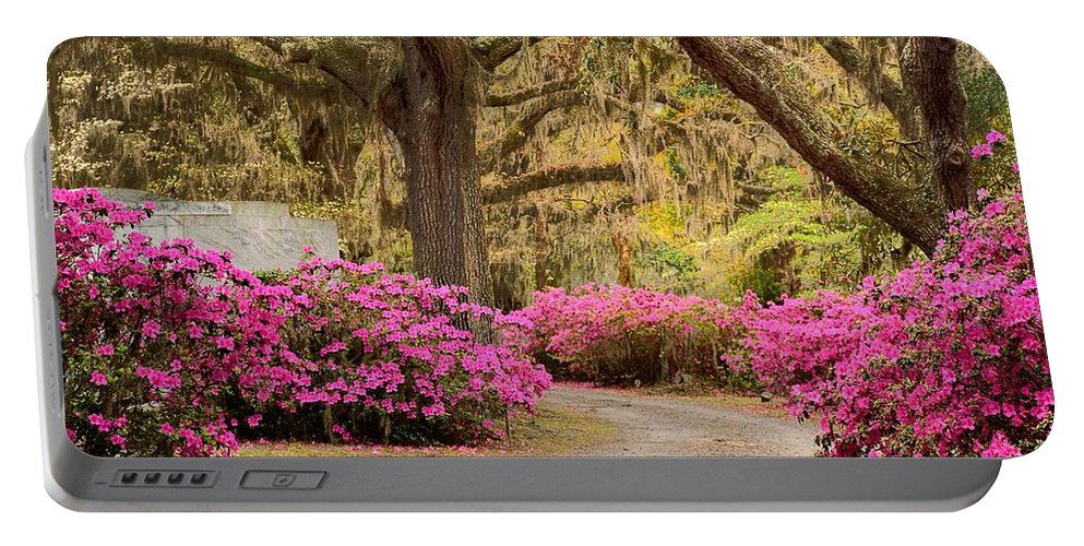 Road Portable Battery Charger featuring the photograph Take Me Home by Jeffrey Schreier