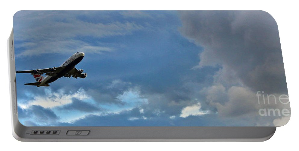 British Airways Portable Battery Charger featuring the photograph Take Off by Jane McGowan