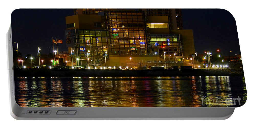 Tampa Bay History Center Portable Battery Charger featuring the photograph Tampa Bay History Center by David Lee Thompson