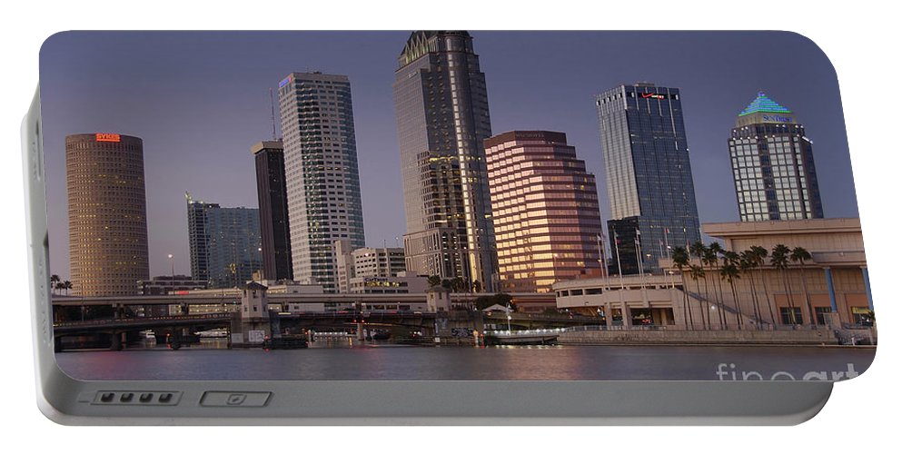 Tampa Florida Portable Battery Charger featuring the photograph Tampa Florida by David Lee Thompson