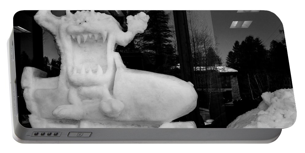 Mccall Portable Battery Charger featuring the photograph Taz by Angus Hooper Iii