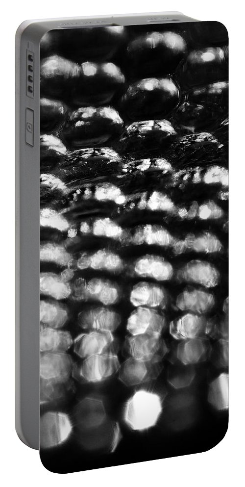 Skip Hunt Portable Battery Charger featuring the photograph Tears Of A Clown by Skip Hunt