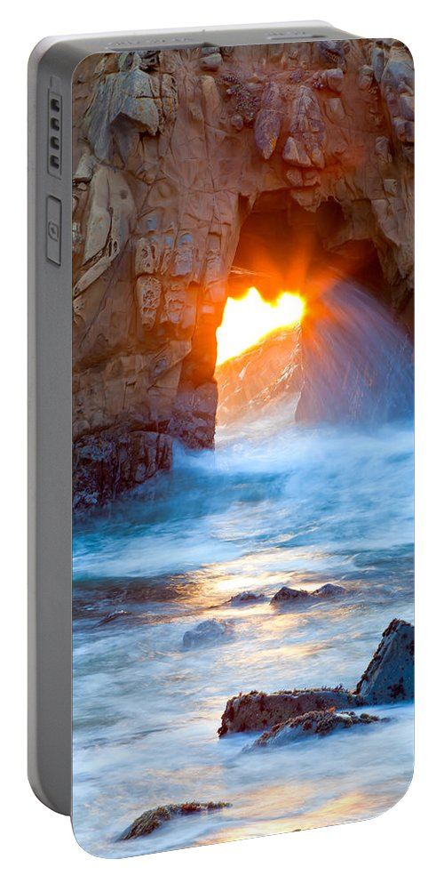 Landscape Portable Battery Charger featuring the photograph Tears Of The Sun by Jonathan Nguyen