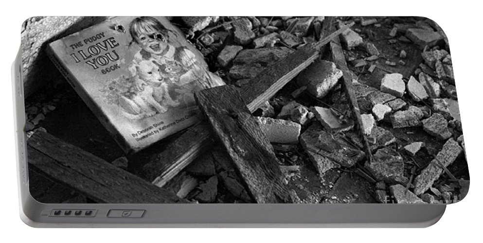 Dark Art Portable Battery Charger featuring the photograph Tell Me A Story by Peter Piatt