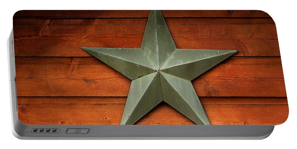 Tenkiller Lake Portable Battery Charger featuring the photograph Tenkiller Lone Star by Susan Vineyard