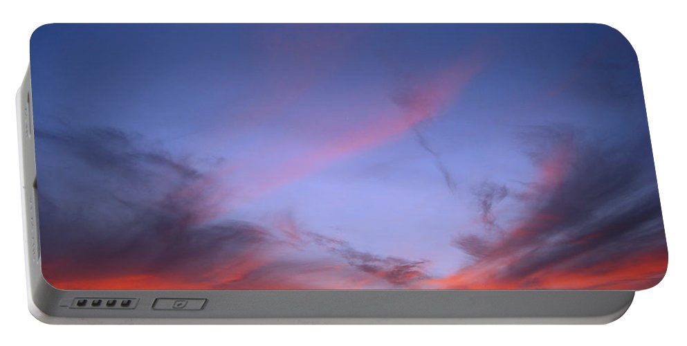 Texas Portable Battery Charger featuring the photograph Texas Sunset by Paulette B Wright