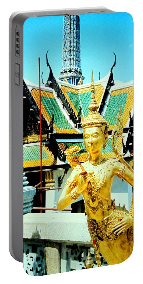 Bangcock Portable Battery Charger featuring the photograph Thailand by Ian MacDonald