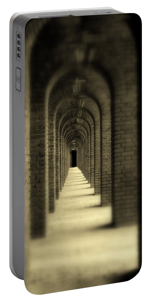 Photography Portable Battery Charger featuring the photograph That Was Yesterday by Susanne Van Hulst