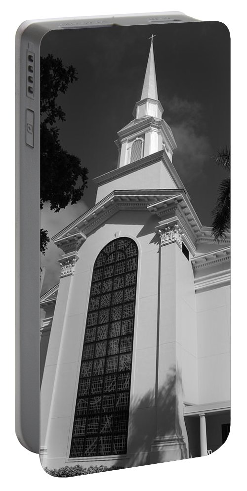 Architecture Portable Battery Charger featuring the photograph Thats Church by Rob Hans
