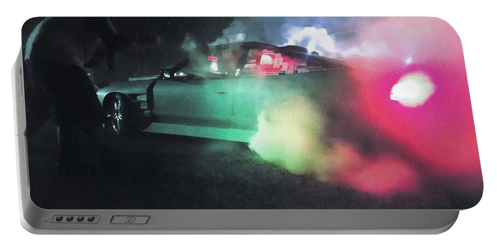 Underground Society Portable Battery Charger featuring the photograph The 240 by Jack Gilbert
