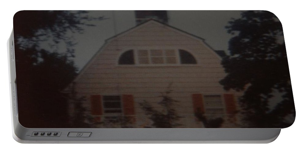 The Amityville Horror Portable Battery Charger featuring the photograph The Amityville Horror by Rob Hans