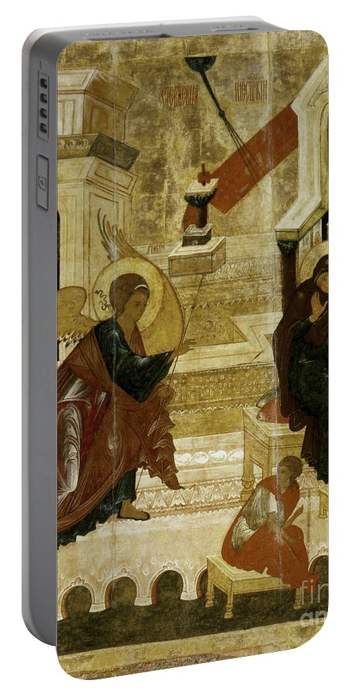 16th Century Portable Battery Charger featuring the photograph The Annunciation by Granger