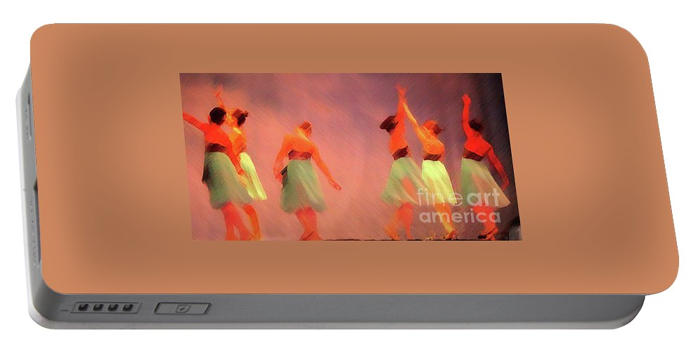 Ballet Portable Battery Charger featuring the photograph The Ballet by Jost Houk