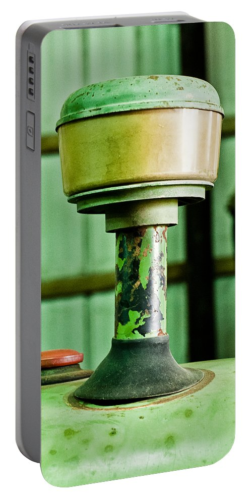 John Deere Portable Battery Charger featuring the photograph The Beacon by Christi Kraft