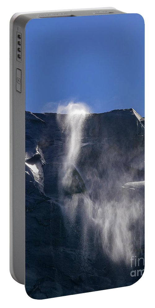 Nps Portable Battery Charger featuring the photograph The Beautiful Bridalveil Falls Of Yosemite by Chon Kit Leong