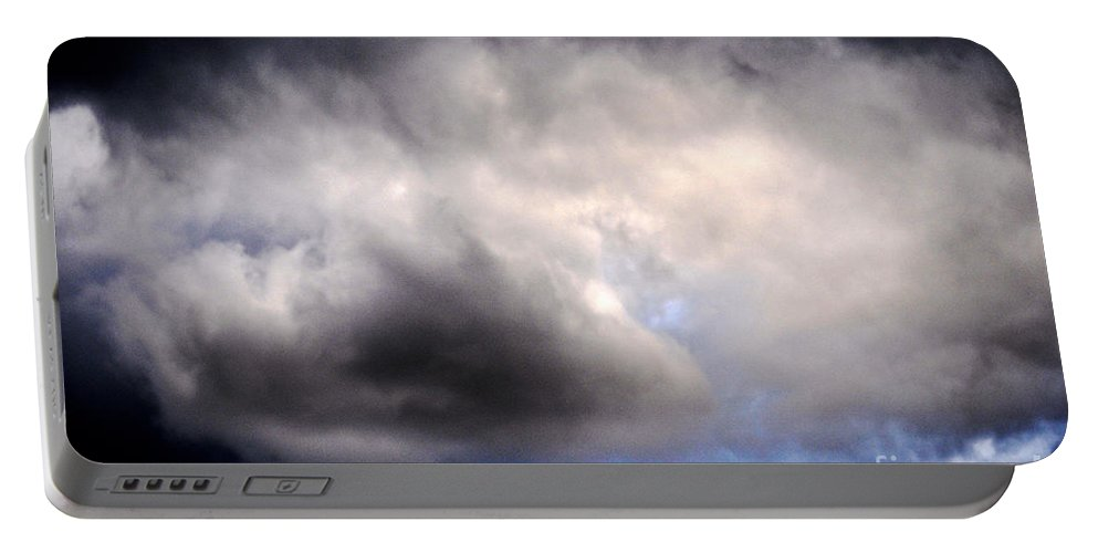 Clay Portable Battery Charger featuring the photograph The Beauty Of Clouds by Clayton Bruster