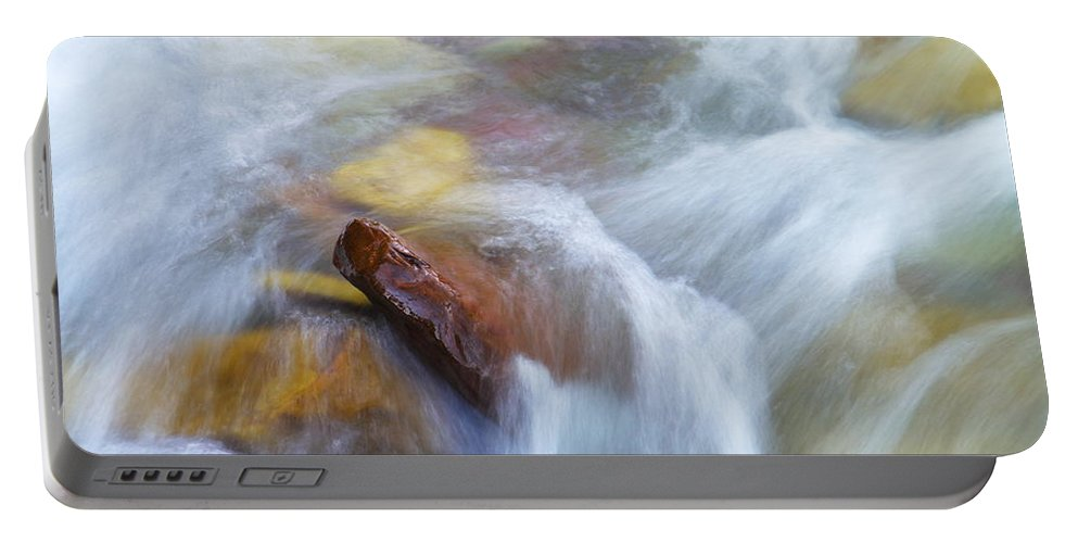 Water Portable Battery Charger featuring the photograph The Beauty Of Silky Water by Jeff Swan