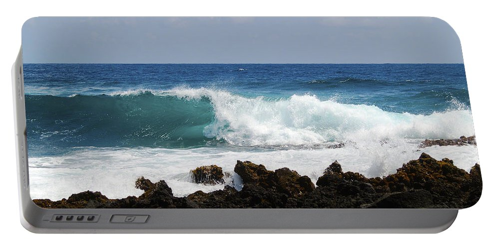 Fine Art Photography Portable Battery Charger featuring the photograph The Beauty Of The Sea by Patricia Griffin Brett