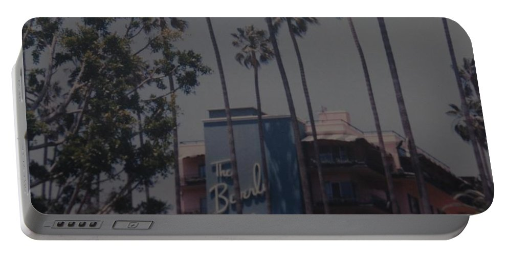 Beverly Hills Portable Battery Charger featuring the photograph The Beverly Hills Hotel by Rob Hans