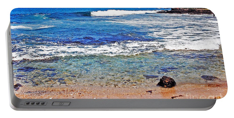 Hawaii Portable Battery Charger featuring the photograph The Big Island by Lydia Holly