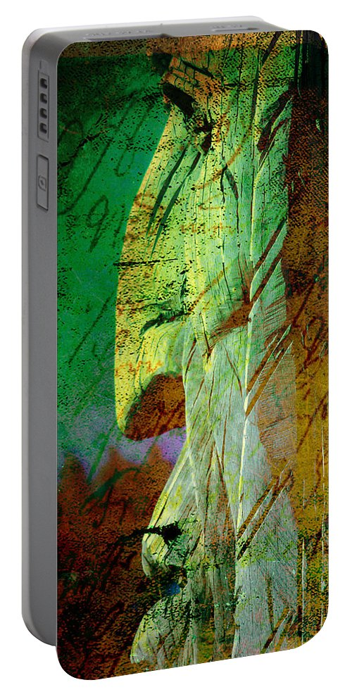 The Big Manitou Portable Battery Charger featuring the photograph The Big Manitou by Susanne Van Hulst