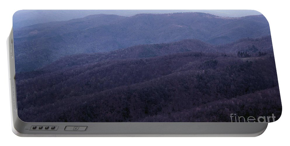 Mountains Portable Battery Charger featuring the photograph The Blue Ridge by Richard Rizzo