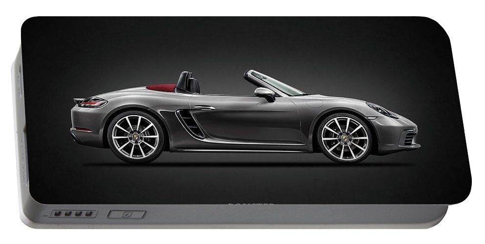 Porsche Boxster Portable Battery Charger featuring the photograph The Boxster by Mark Rogan
