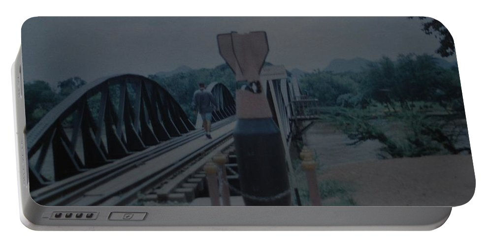 Bridge Portable Battery Charger featuring the photograph The Bridge On The River Kwai by Rob Hans